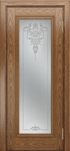 Двери ЛайнДор Валенсия тон 45 стекло Версаль