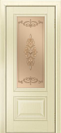 Двери ЛайнДор Виолетта тон 42 стекло Эрика