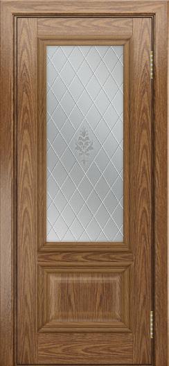 Двери ЛайнДор Виолетта тон 45 стекло Лилия