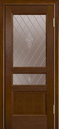 Двери ЛайнДор Калина-К тон 30 стекло Лилия-СТ