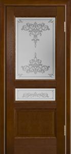 Двери ЛайнДор Калина-К тон 30 стекло Лира