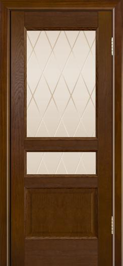 Двери ЛайнДор Калина-К тон 30 стекло Лондон бронза