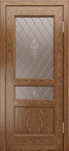 Двери ЛайнДор Калина-К тон 45 стекло Лилия-СТ