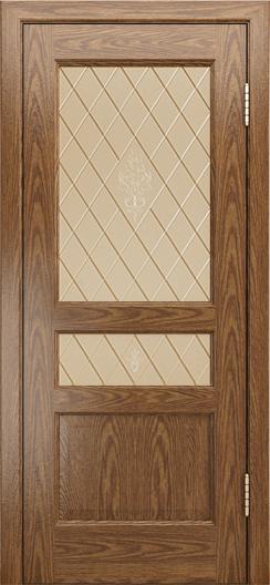Двери ЛайнДор Калина-К тон 45 стекло Лилия бронза