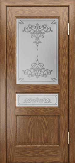 Двери ЛайнДор Калина-К тон 45 стекло Лира