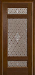 Двери ЛайнДор Мишель-К тон 30 стекло Лилия-СТ