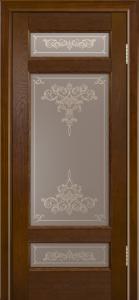Двери ЛайнДор Мишель-К тон 30 стекло Лира шелкография