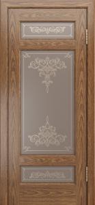 Двери ЛайнДор Мишель-К тон 45 стекло Лира шелкография