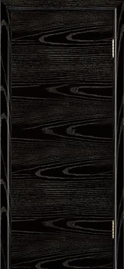 Двери ЛайнДор Ника черная эмаль тон 26