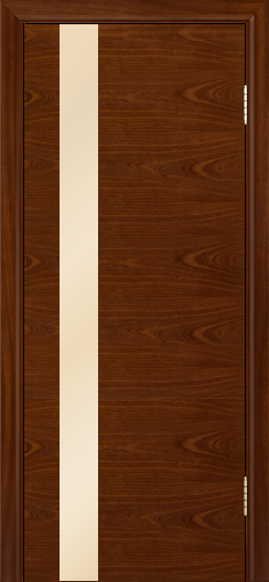 Двери Лайндор Камелия К5 тон 10 стекло Светло-бежевое