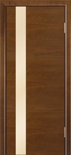 Двери Лайндор Камелия К5 тон 23 стекло Светло-бежевое
