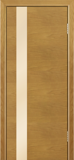Двери Лайндор Камелия К5 тон 24 стекло Светло-бежевое