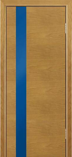 Двери Лайндор Камелия К5 тон 24 стекло Синее