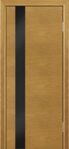 Двери Лайндор Камелия К5 тон 24 стекло Черное