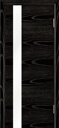 Двери Лайндор Камелия К5 тон 26 стекло Белое