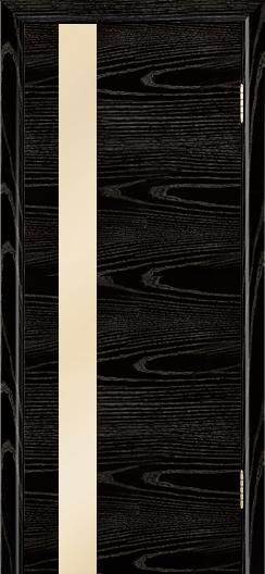 Двери Лайндор Камелия К5 тон 26 стекло Светло-бежевое