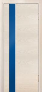 Двери Лайндор Камелия К5 тон 27 стекло Синее