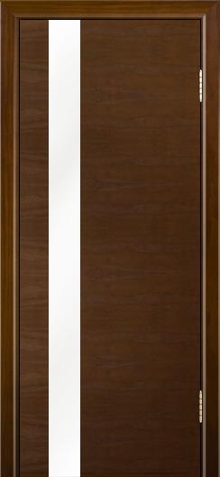 Двери Лайндор Камелия К5 тон 30 стекло Белое
