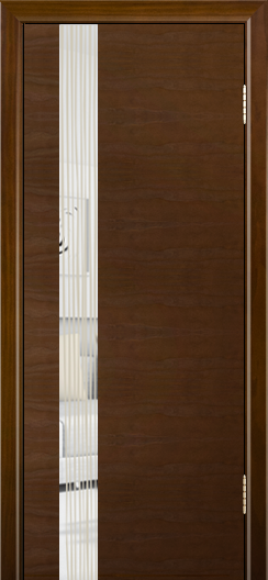 Двери Лайндор Камелия К5 тон 30 стекло Водопад