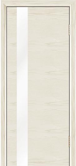 Двери Лайндор Камелия К5 тон 34 стекло Белое
