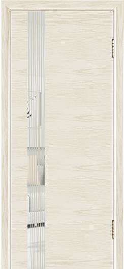 Двери Лайндор Камелия К5 тон 34 стекло Водопад