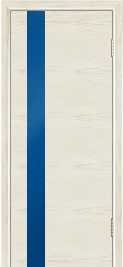 Двери Лайндор Камелия К5 тон 34 стекло Синее