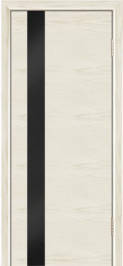 Двери Лайндор Камелия К5 тон 34 стекло Черное