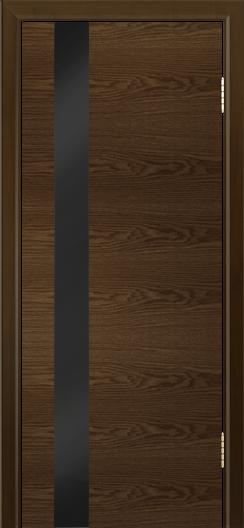 Двери Лайндор Камелия К5 тон 35 стекло Черное