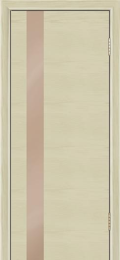 Двери Лайндор Камелия К5 тон 36 стекло Серо-коричневое