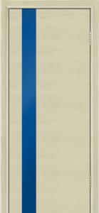 Двери Лайндор Камелия К5 тон 36 стекло Синее