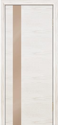 Двери Лайндор Камелия К5 тон 38 стекло Серо-коричневое