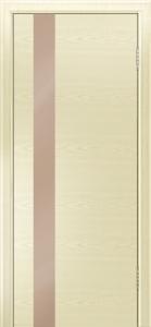 Двери Лайндор Камелия К5 тон 42 стекло Серо-коричневое