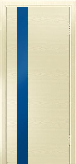 Двери Лайндор Камелия К5 тон 42 стекло Синее