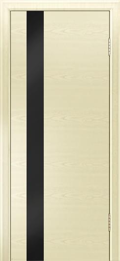 Двери Лайндор Камелия К5 тон 42 стекло Черное