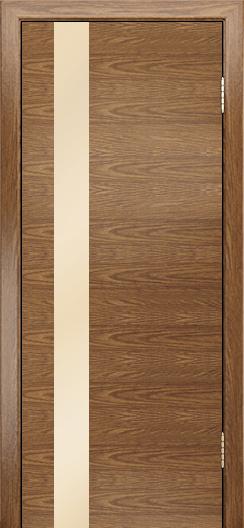 Двери Лайндор Камелия К5 тон 45 стекло Светло-бежевое