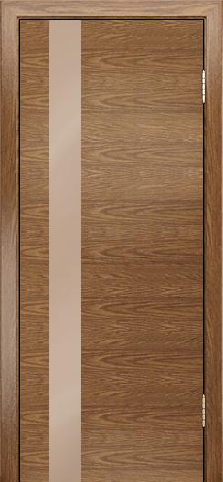Двери Лайндор Камелия К5 тон 45 стекло Серо-коричневое