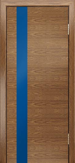 Двери Лайндор Камелия К5 тон 45 стекло Синее