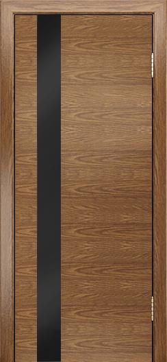 Двери Лайндор Камелия К5 тон 45 стекло Черное