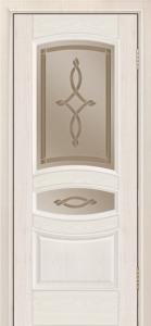 Дверь Лайндор Алина М тон 27 стекло Неаполь бронза