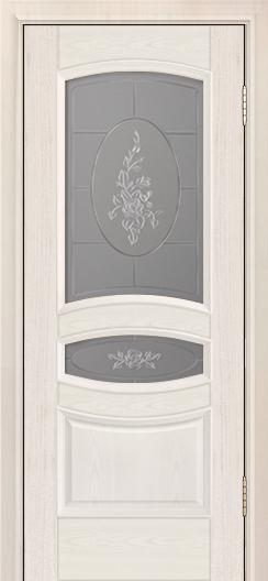 Дверь Лайндор Алина М тон 27 стекло Роза