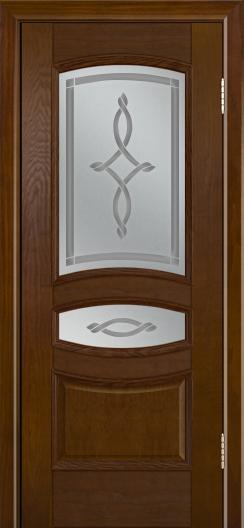 Дверь Лайндор Алина М тон 30 стекло Неаполь светлое