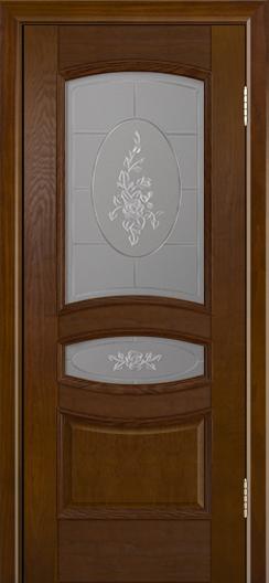 Дверь Лайндор Алина М тон 30 стекло Роза