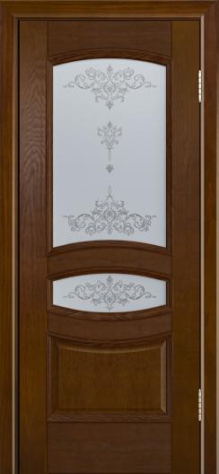 Дверь Лайндор Алина М тон 30 стекло Шарм светлое