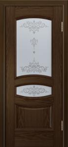 Дверь Лайндор Алина М тон 35 стекло Шарм светлое