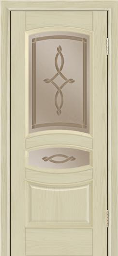 Дверь Лайндор Алина М тон 36 стекло Неаполь бронза