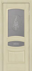 Дверь Лайндор Алина М тон 36 стекло Роза