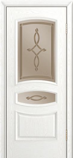 Дверь Лайндор Алина М тон 38 стекло Неаполь бронза