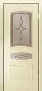 Дверь Лайндор Алина М тон 42 стекло Неаполь бронза