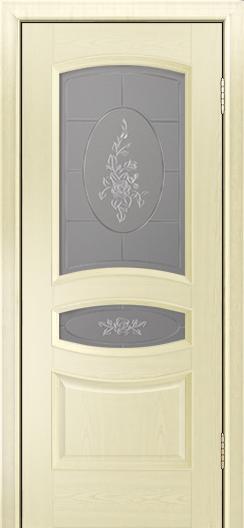 Дверь Лайндор Алина М тон 42 стекло Роза