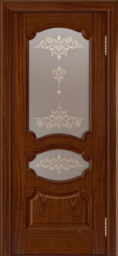 Дверь Лайндор Марта тон 10 стекло Шарм бронза